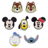 Mickey & Friends Mini Faces Pin Set