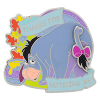 Eeyore Thanks For Noticing Me Pin