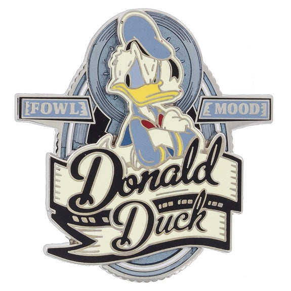 Donald Vintage Label Pin
