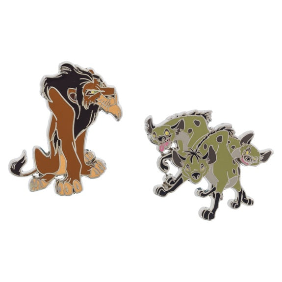 Scar & Hyenas Pin Set