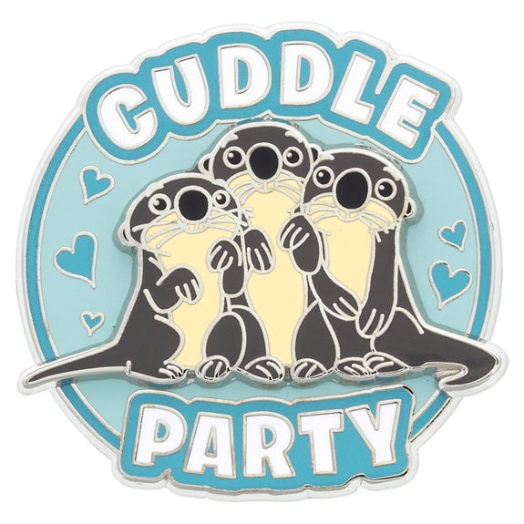 Finding Dory Otters Cuddle Party Pin
