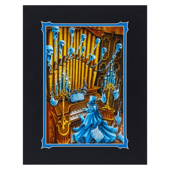 The Organist Deluxe Print by Fraser