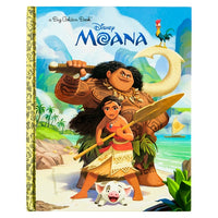 Big Golden Book Moana
