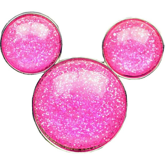 Mickey Icon Glitter Pin