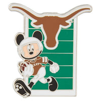 NCAA Texas Mickey Pin