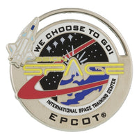 Mission: SPACE Logo Pin
