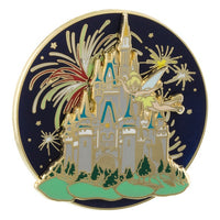 Tinker Bell Castle Spinner Pin