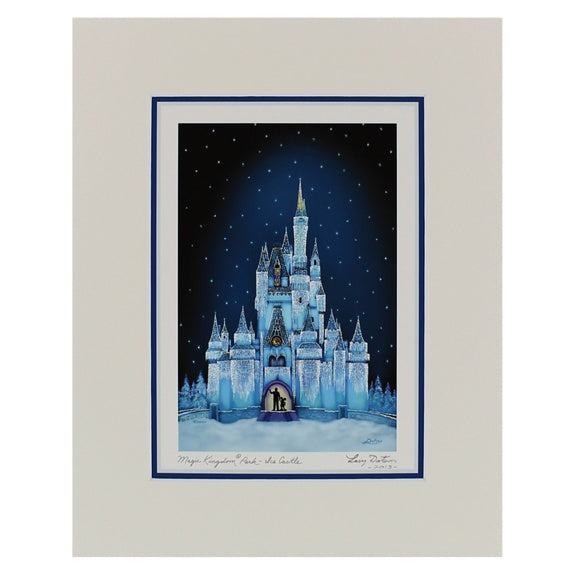 Ice Castle Print 8x10 by Dotson