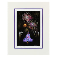 Magic Kingdom Wishes Print by Dotson