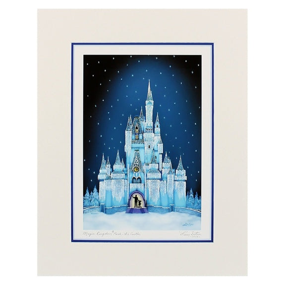 Ice Castle Print 11x14 by Dotson