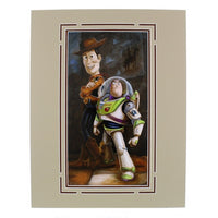 Toy Story Buzz & Woody Print by Wilson