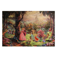 Sleeping Beauty on Canvas by Kinkade