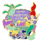 Ariel Under the Sea Logo Pin