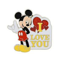 Mickey Sign Language I Love You Pin
