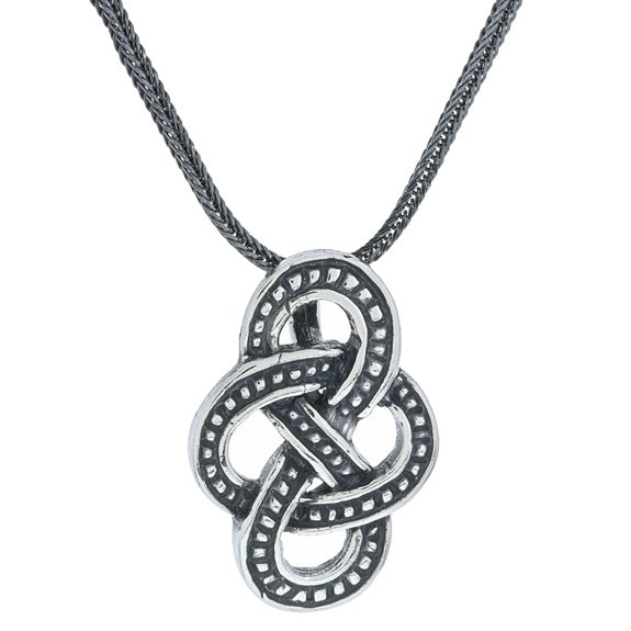 Norway Olavsrosa Knot Necklace