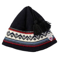 Norway Knit Hat with Tassels