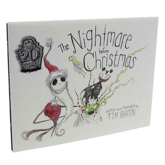 The Nightmare Before Christmas Book