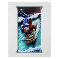 Mickey Wave Deluxe Print by Blackmore