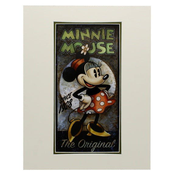 Minnie Original Deluxe Print by Wilson