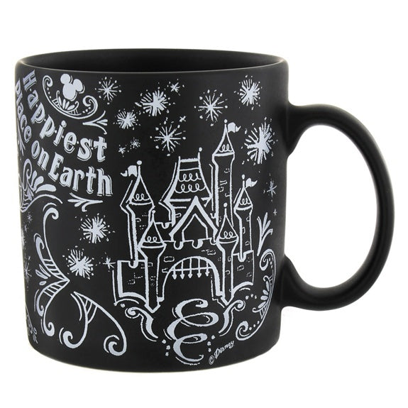 Be Our Guest Chalkboard Mug 18 oz