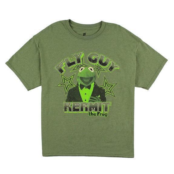 Muppets Kermit the Frog Fly Guy Tee