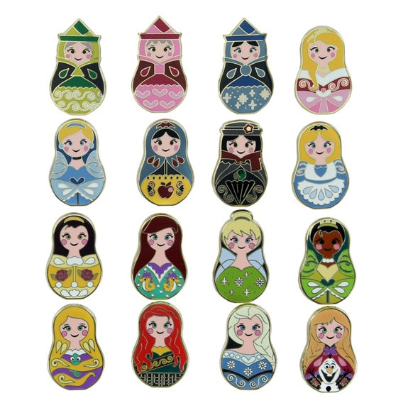 Nesting Dolls Mini Mystery Pins