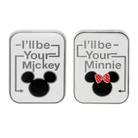 I'll Be Your Mickey & Minnie Pin Set