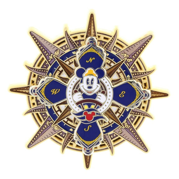 Disney Cruise Line Mickey Compass Pin