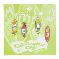 Disney Cruise Line Castaway Cay Pin Set