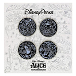 Alice in Wonderland Sketch Pin Set