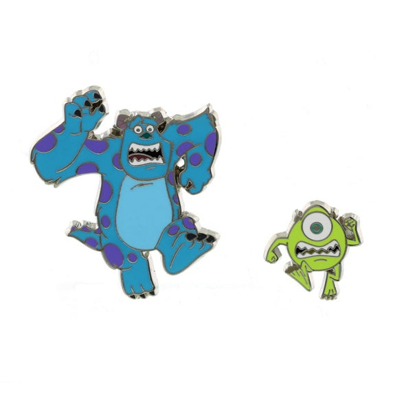 Monsters Mike & Sulley Running Pin Set