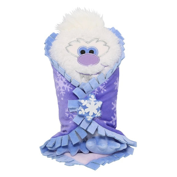 Baby Yeti In A Blanket Plush 10 Mickey Monthly