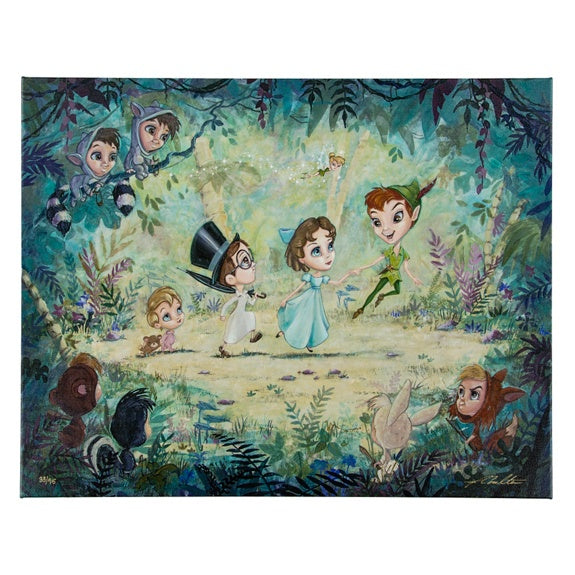 Peter Pan Giclee' by Coulter