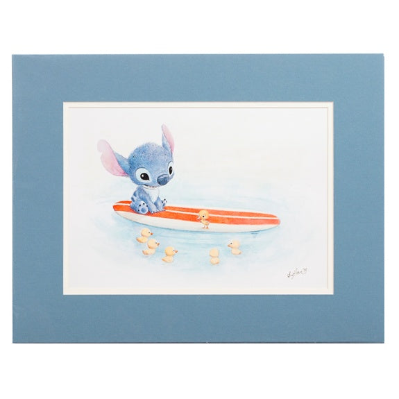 Swimming Lessons Deluxe Print by Hanson