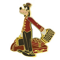 Hollywood Tower Hotel Goofy Bellhop Pin