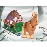 Sleigh Ride Canvas Giclee' by Williams
