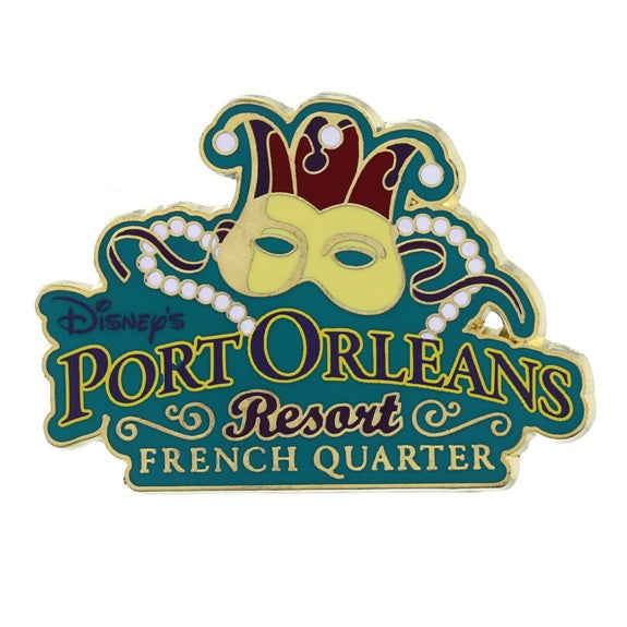 Disney's Port Orleans French Quarter Pin