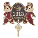 Hollywood Tower Hotel Chip 'n Dale Pin