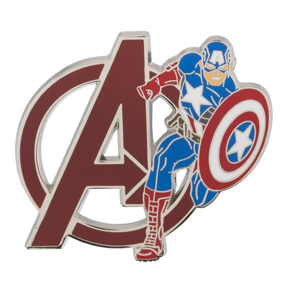 Marvel Avengers Captain America Pin