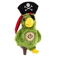 Pirate Parrot Plush 9""