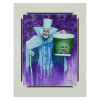 Hatbox Ghost Deluxe Print by Kevin-John