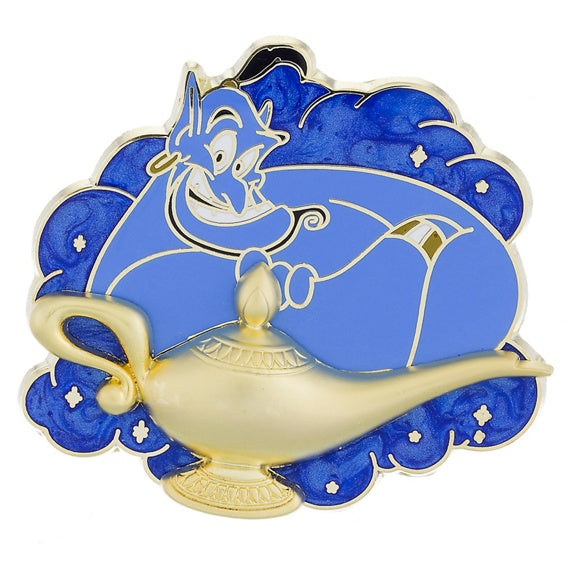 Genie with Lamp Pin