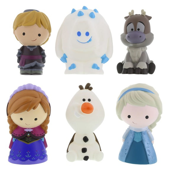 Frozen Characters Bath Toy Set