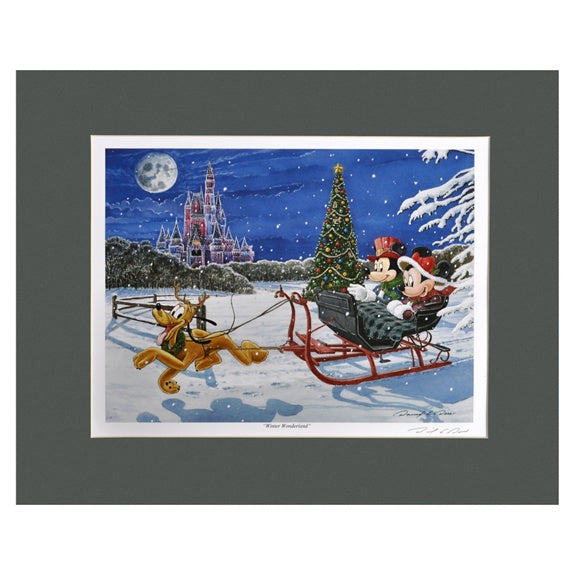 Winter Wonderland 16x20 Print by Doss