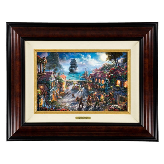 Pirates on Canvas 12x18 by Kinkade