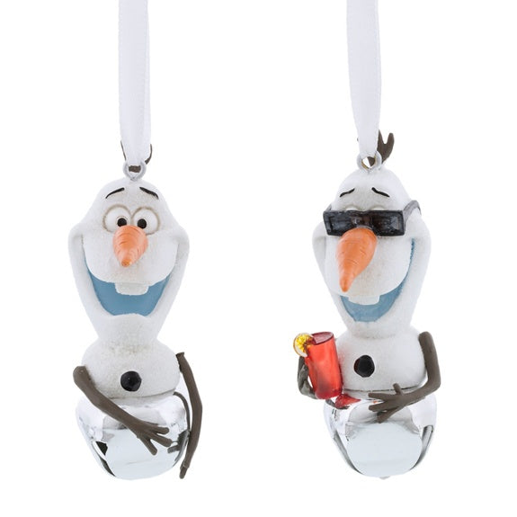 Olaf Bell Ornaments - Set of 2