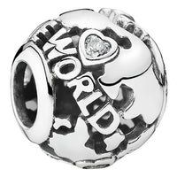 Around the World Charm PANDORA Jewelry
