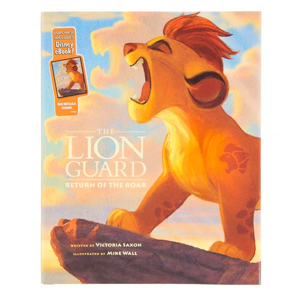 The Lion Guard Return of the Roar Book