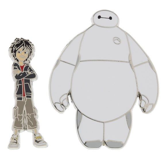 Big Hero 6 Hiro & Baymax Pin Set