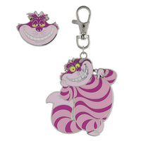 Cheshire Cat Lanyard Medal & Pin